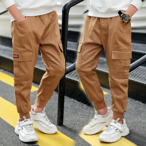 Autumn Children Boys Fashion Pants Clothes Clothing Kids Boys Bottom Trousers