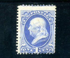 USAstamps Unused FVF US 1870 Bank Note Issue Franklin Scott 134 NG Full Grill