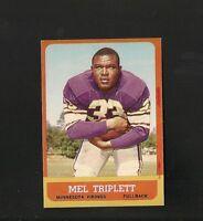 6343* 1963 Topps # 100 Mel Triplett NM