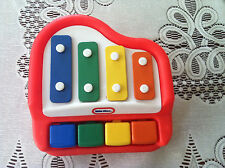 Little Tikes Baby Tap A Tune Red / Yellow Piano Musical Toy Choose Color