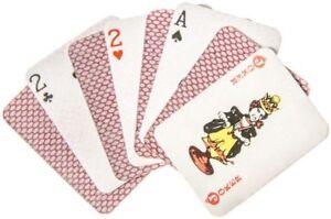 10x Mini-Kartenspiel 54 Karten ca. 4x3cm Taschenkartenspiel Skat Romme Mitgebsel