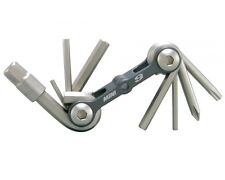 Topeak Mini 9 Multi-Tool. Compact and super light, but great performance!