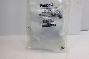 POMONA 4933-0 BANANA PLUG bag of 10 BLACK