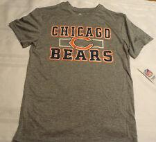 NFL Team Apparel Youth M 10-12 Football Chicago Bears Short Sleeve Shirt NWT