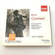 Bizet Carmen CD 1951 Recording Andre Cluytens S Michel R Jobin M Angelic M Dens