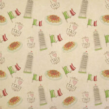 Vintage Italian Flag Italy Theme Kraft Present Gift Wrap Wrapping Paper