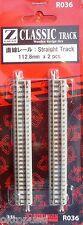 ROKUHAN Z R036 NOCH 97036 GERADES GLEIS 118,8mm - NEU