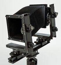 Horseman 4x5 Camera Body 2 Bellows Ground Glass Back Carrying Case