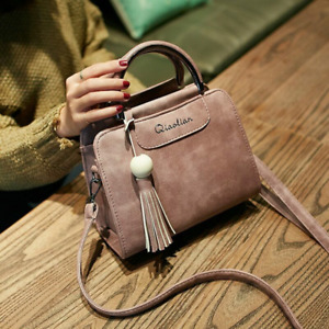 Women Trend Retro flap handbag shoulder bag Tassel woman Crossbody messenger bag