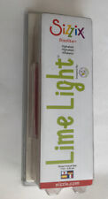 Sizzix Sizzlits Alphabet Numbers Punctuation Lime Light Retired Retail $149.99
