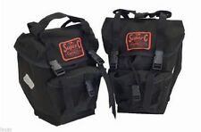 Canvas Bicycle Double Pannier Sets with Carry Handle