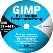 GIMP 2.10.28 DVD, Digitale Bild Foto Bearbeitung Grafik Editor Windows 7-8-10
