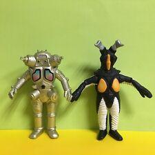 2 Lot Bandai Ultraman Ultra Monster 500 Gold King Joe & Zetton Figure Toy
