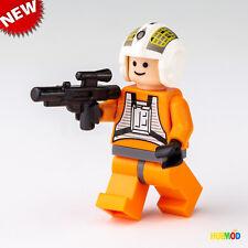 LEGO STAR WARS Y-Wing Pilot Fighter Dutch Vander Minifigure Minifig Blaster NEW