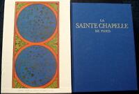 Livre La sainte Chapelle de Paris N° 230/1000 avec planches 2007 Comme neuf