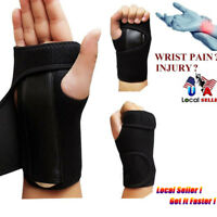 Carpal Tunnel Wrist Guard Band Brace Support Sprain Arthritis Splint Band Strap