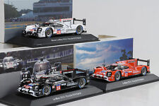 2015 porsche 919 Hybrid #17 # 18 # 19 winner set 24 H le mans 1:43 spark