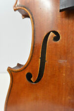 Old Violin Unlabeled Full Size Possibly French For Restoration