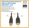 Tripp Lite 16 Ft. USB A/A 2.0 Hi-Speed Extension Cable A M/F - (U024-016)