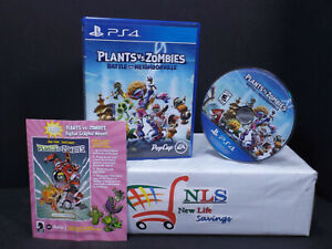 PS4 Plants vs. Zombies Battle for Neighborville