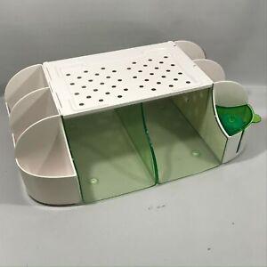 Munchkin Diaper Duty Organizer Green/White