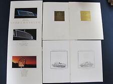 1990 1991 1993 Chrysler LeBaron Convertible Fifth Avenue.. Dealer Sales Brochure