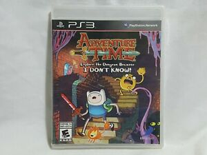 NEW (Read) Adventure Time Explore the Dungeon Because ... Playstation 3 Game PS3