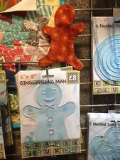 Ginger bread man Quilting Template