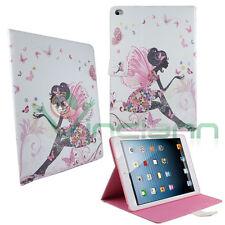 Custodia DONNA FATA FIORI mod. B per iPad Air 2 BOOK STAND brillantini farfalle