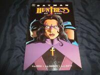 Batman Huntress: Cry for Blood by Greg Rucka 2000 TPB 1st Print DC Comics OOP
