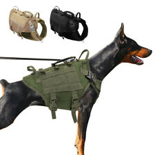 Military Dog Harness No Pull Tactical Molle Vest Training Harness for Boxer K9