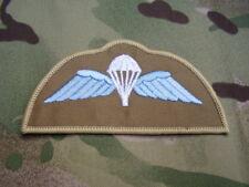Royal Marines Commandos/SBS - Combat Jacket/Shirt Para Wings Sew On Patch/Badge