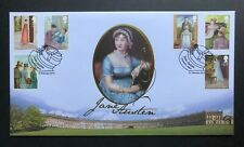 2013 Jane Austen First Day Cover - Chawton, Alton H/S - Buckingham Covers Ltd Ed