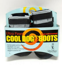 ULTRA PAWS COOL DOG BOOTS  ~ IN SILVER ~ SIZE LARGE - NWT