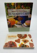 Mollie Katzen Sunlight Cafe Breakfast Cookbook Lot Of 2 Waffles Cook Book 20-50