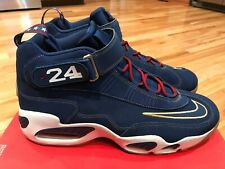 new arrivals d8d02 4de28 Nike Air Griffey Max 1 Prez Blue Navy White Gold President Sz 15 853014-400