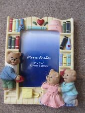 1 x NOVELTY TEDDY BEAR PHOTOGRAPH/PICTURE FRAME - PIERRE FARBER