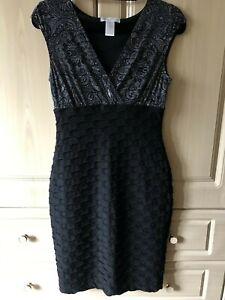 Stunning Black Dress - London Times - Size 6 - REDUCED!