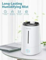 Elechomes Top Fill Cool Mist Humidifier, 4L Ultrasonic Vaporizer for Home Office