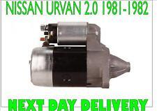 NISSAN URVAN BOX (E23) 2.0 PETROL 1981 1982 RECONDITIONED STARTER MOTOR