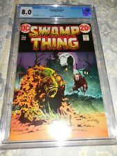 1973 DC Swamp Thing #4 CGC 8.0 VF