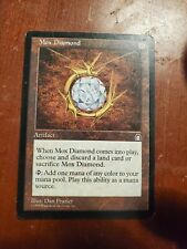 Mox Diamond Stronghold MTG, Magic The Gathering NM-LP Reserved List