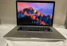 """New listing MacBook Pro 15.4"""" (2015)  A1398  i7 2.5 GHz 16 GB 512 SSD MJLT2LL/A"""