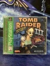 Tomb Raider Iii 3 Black Label Ps1 Sony PlayStation Complete