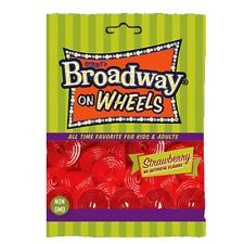 Gerrit Broadway  Red Licorice wheels 4.4 lb. Bag
