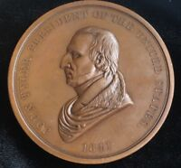 1841 John Tyler IP-21 Indian Peace Medal Bronze
