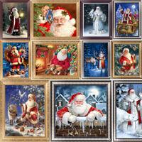 5D Diamond Christmas Santa Claus Embroidery Painting Cross Stitch Craft Decor