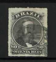 Brazil SC# 64, Used, Hinge Remnants - S8196