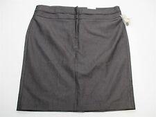 new STUDIO Y SH1679 Women's Size 15/6 Plain Above Knee Cotton Pencil Skirt