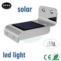 16 LED Solar Power Motion Sensor Garden Security Lamps Waterproof Outdoor Light